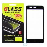 Защитное стекло Full Glue Xiaomi Mi5X, Mi A1 black Glass