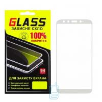 Защитное стекло Full Glue Xiaomi Mi6X, Mi A2 white Glass