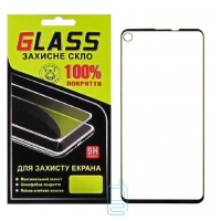 Защитное стекло Full Glue Samsung A8s 2018 G8870 Galaxy black Glass