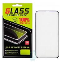 Защитное стекло Full Glue Apple iPhone XR black Glass