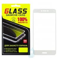 Защитное стекло Full Glue Huawei P8 Lite 2017, P9 Lite 2017, GR3 2017, Honor 8 Lite, Nova Lite 2016 white Glass