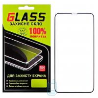 Защитное стекло Full Glue Apple iPhone XS Max black Glass