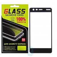 Защитное стекло Full Glue Nokia 2 black Glass