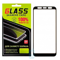 Защитное стекло Full Glue Samsung J4 Plus 2018 J415 black Glass