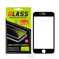 Защитное стекло Full Glue Apple iPhone 6 black Glass