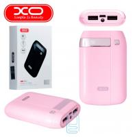 Power Bank XO PB56 8000 mAh розовый