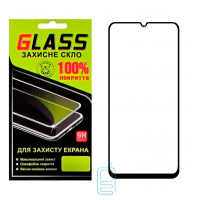 Защитное стекло Full Glue Samsung A70 2019 A705 black Glass