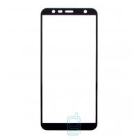 Защитное стекло 6D Samsung J4 Plus 2018 J415, J6 Plus 2018 J610  black тех.пакет