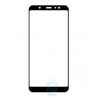 Защитное стекло 6D Samsung A6 2018 A600 black тех.пакет