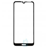 Защитное стекло Full Glue Huawei Honor 8A, Y6 2019, Y6 Pro 2019 black тех.пакет