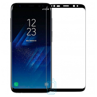 Защитное стекло 5D Samsung S8 G950, S9 G960 black тех.пакет