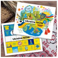 """Шоколадный набор """"Ukraine Now"""" 150 г"""