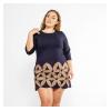 Платье с аппликацией 120PFA115186A