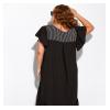 Платье однотонное в горох 120PDS5092-1