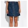 Джинсовая юбка на пуговицахl 32P3058