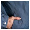 Спортивная однотонная куртка 120PMH1107