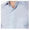 Классическая однотонная рубашка 120P292