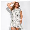 Платье с нежным цветочным принтом 165P301
