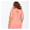 Платье однотонное с пуговичками 120PDS8538