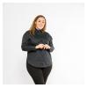 Рубашка женская с принтом на спинке 153P009