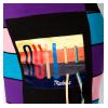 Платье-туника в разноцветную полоску 120PRU852