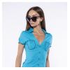Рубашка женская с контурными карманами 118P289