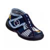 Тапочки текстильные темно-синие ZABKA 2B5/9 3F 20-25 (Пара)