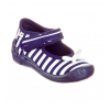 Тапочки текстильные синие в полосочку PCHOLKA 1F2/10 3F 20-25 (Пара)