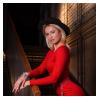 Платье Рут, красный