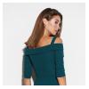 Платье Алия, темно-зеленый