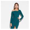 Платье Космо, темно-зеленый