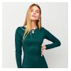Платье Шардоне, темно-зеленый