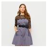Платье Бертони, серый