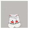 Носочки белые однотонные для новорожденных малышей