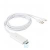 HDTV кабель для iPhone 5/5S/6/6S white