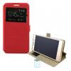 Чехол-книжка Modern 1 окно Lenovo Vibe C A2020 красный