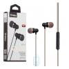 Наушники с микрофоном inkax EP-01 черные