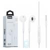 Наушники с микрофоном inkax OE-09 белые