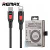 USB кабель Remax RC-151cl Type-C - Lightning черный