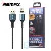 USB кабель Remax RC-156m Magnetic Cigan 3A micro USB черный