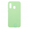Чехол Silicone Cover Full Samsung A40 2019 A405 салатовый