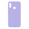 Чехол Silicone Cover Full Huawei Y9 2019 сиреневый