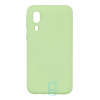 Чехол Silicone Cover Full Samsung A2 Core A260 салатовый
