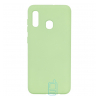 Чехол Silicone Cover Full Samsung A20 2019 A205, A30 2019 A305 салатовый