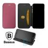 Чехол-книжка Baseus Premium Edge Samsung A70 2019 A705 бордовый