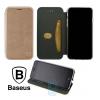 Чехол-книжка Baseus Premium Edge Samsung S10 Plus G975 розово-золотистый