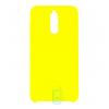 Чехол Silicone Case Original Huawei Mate 10 Lite желтый (43)
