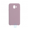 Чехол Silicone Case Original Samsung J2 2018 J250, J2 Pro 2018 розовый (19)