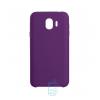 Чехол Silicone Case Original Samsung J2 2018 J250, J2 Pro 2018 фиолетовый (30)