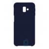 Чехол Silicone Case Original Samsung J6 Plus 2018 J610 темно-синий (08)